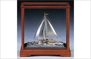 ヨット 銀製品 贈答品 SV-46