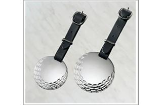 銀製 ゴルフバッグタグ S-27